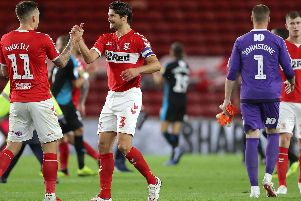 How does Middlesbrough's run-in compare to their Championship rivals?