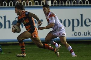 Alex Foster, who has been ruled out of Castleford Tigers' game at London through injury.