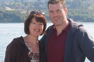 Andrea Leclair has launched a campaign to find her son Kristian Baxter who went missing in Syria 12 weeks ago.