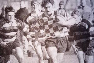 West Hartlepool TDSOB go on the attack in their 1999 match against Bradford Salem.