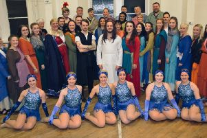 The cast of Jesus Christ Superstar by Tim Rice and Andrew Lloyd-Webber, which was performed at St Mary's Centre by Clitheroe Parish Church Amateur Operatic and Dramatic Society. (s)