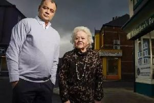 Billy and Julie run a letting agency in Hartlepool. Picture: Channel 4.