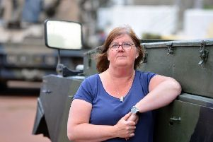 Heugh Battery Museum manager Dianne Stephens.