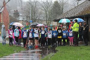 Todmorden Harriers fun run at the Red Hot Toddy
