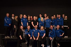 The cast of Our House, which will be staged at Pendle Hippodrome Theatre next week. (s)