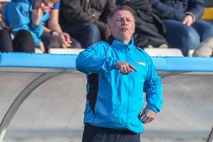 Craig Hignett, Hartlepool United manager.