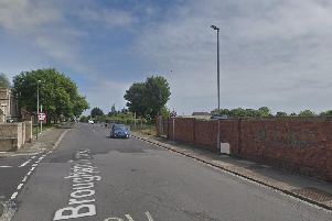 Police have said the incident took place on Brougham Terrace in Hartlepool. 'Image by Google Maps.