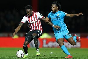 Shaq Coulthirst is one to watch when Hartlepool face Barnet