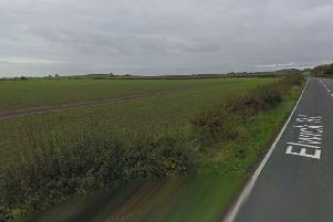 Land off elwick Road earmarked for 1,200 new home community. Picture: Google.