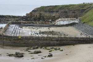 Tynemouth outdoor pool. Picture by Jane Coltman