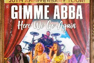 Gimmie Abba comes to Gainsborough next month