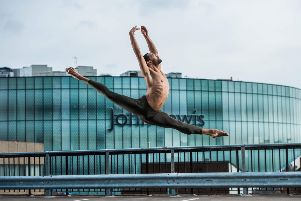 Brandon Lawrence from Birmingham Royal Ballet