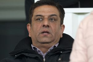 Hartlepool United chairman Raj Singh.