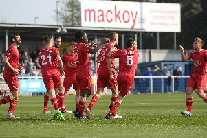 How did Hartlepool United's players perform at Eastleigh?