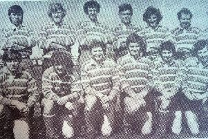 The West  team for the 1972 Durham Senior Cup final.