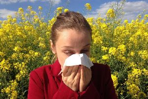Are you starting to feel symptoms of hay fever? Picture: PA.