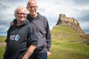 Billy Mitchell and Ray Laidlaw of Lindisfarne will be bringing their touring show to Whitley Bay. Picture by Michael Bailey.