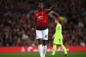 Paul Pogba is said to want a move to Real Madrid. (Photo by Stu Forster/Getty Images)