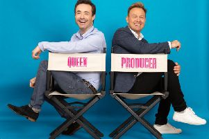 Priscilla star Joe McFadden and producer Jason Donovan
