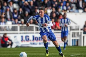 Hartlepool United midfielder Josh Hawkes missed Saturday's defeat to Solihull Moors with a thigh injury.