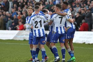 How many minutes EVERY Hartlepool United player had played this season