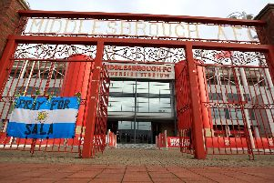 Middlesbrough FC.