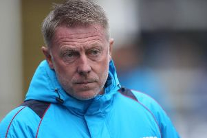 Hartlepool United boss Craig Hignett.