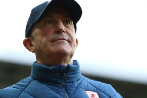 Middlesbrough boss Tony Pulis.