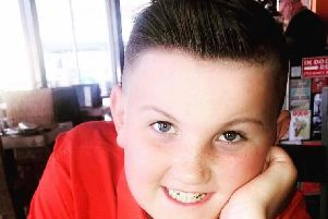 Harry Calvert, 11, was reportedly attacked by a gang in a Hartlepool park.