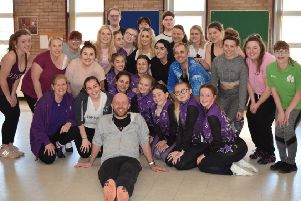 The cast is made up of members of Hartlepool Stage Society and Karen Liddle Dance School.