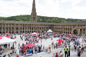 Antiques Roadshow at The Piece Hall in Halifax
