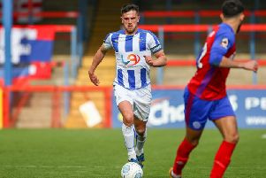 Hartlepool United skipper Ryan Donaldson (Shutterpress).