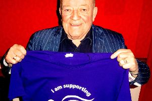 Tim Healy is supporting a sponsored walk in aid of Alice House Hospice.