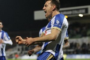 Hartlepool United club captain Carl Magnay (Shutterpress).