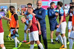 South Shields could win a fourth-straight promotion today, picture by Kev Wilson.