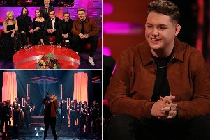 Michael Rice will appear on tonight's Graham Norton. Picture: PA.