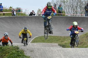 Action from the regional BMX competition held at Summerhill Country Park, Hartlepool, on Sunday.