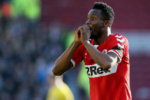 John Obi Mikel joined Boro on a short-term deal in January.