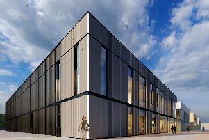 Impression of the new TERC energy centre.