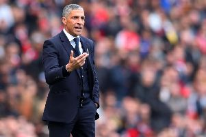 Chris Hughton has emerged as a contender for the Middlesbrough job