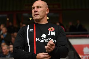 Jon Whitney from his days as manager of Walsall (Getty).