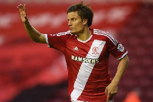 Jelle Vossen scored seven league goals for Boro in the 2014/15 season.