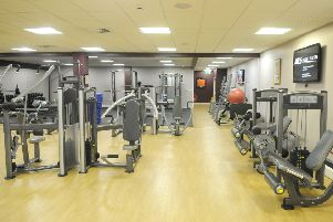 Mix it up with different exercises and routines in the gym.