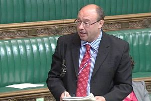 Easington MP Grahame Morris