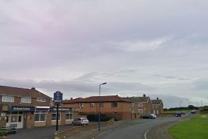 The collision happened on Eaglesfield Road in Hartlepool. Image copyright Google Maps.