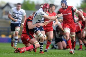 Yorkshire Carnegie in action last season.