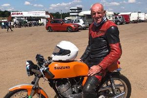Former Cleveland Police officer Paul Dee, who died following a motorcycle crash in North Yorkshire on Sunday. Photo issued by North Yorkshire Police.