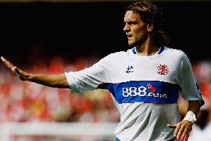 Jonathan Woodgate made his Middlesbrough debut in 2006.