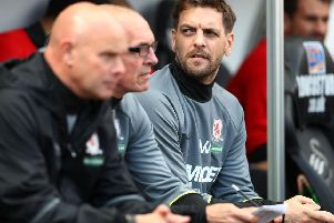 Jonathan Woodgate joined Middlesbrough's backroom staff in 2017.