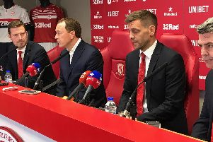 Jonathan Woodgate was appointed as Middlesbrough manager today